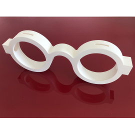 Tirelire lunettes par Optimaker