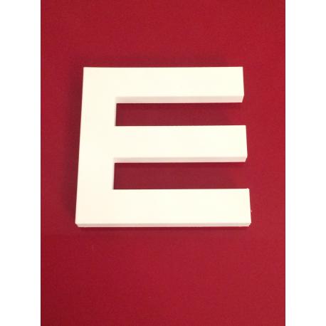 Optotype E de Snellen
