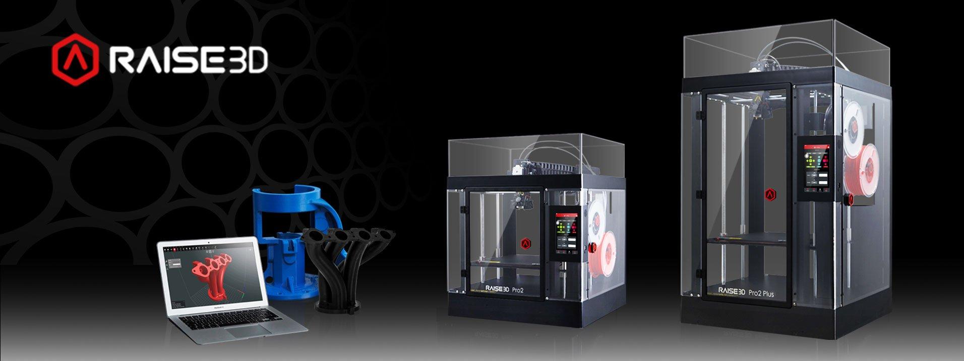 Gamme imprimantes 3D Raise 3D